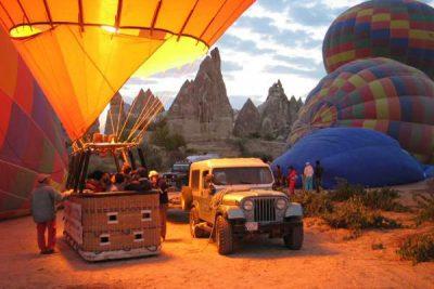 Cappadocia sunrise balloon tour